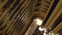 Chorale du Kentucky au balcon de Hyatt Louisville