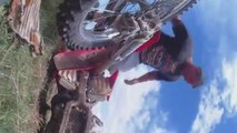 Mean NDMX Nunawading Mx Track Dirtbike crash CRF250R