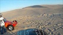 Silver Lake Sand Dunes Dirt Bike Jumping GoPro HD