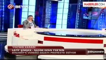 Beyaz TV'de Siyah Bantlı Protesto
