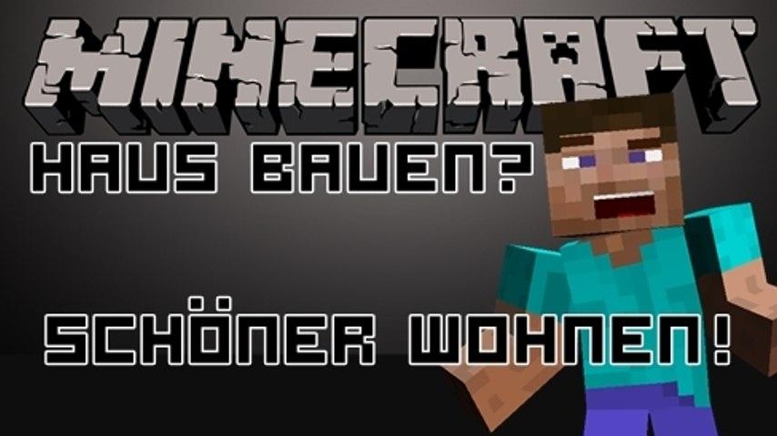 Minecraft - Ein Minecraft anfänger entwirft eine Höle als Haus