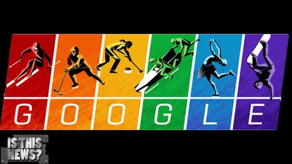 Google takes an anti gay Olympic stand - Google Doodle