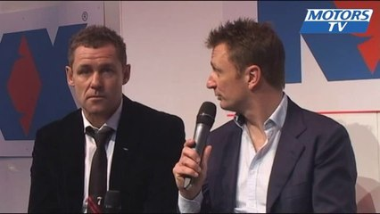 AUTOSPORT INTERNATIONAL SHOW 2014 - Allan McNish & Tom Kristensen interview