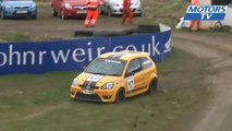 Scottish FF & Fiesta 1600 crash at Knockhill 2013
