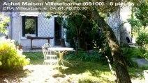 A vendre - maison - Villeurbanne (69100) - 6 pièces - 140m²