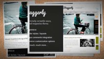 Staggerly Responsive News Magazine Blog Theme Download