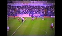 Oldham Athletic V Leeds United League Cup 2nd Round 2nd leg 1st Half 1989