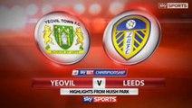 Yeovil 1-2 Leeds United Highlights #LUFC