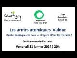 """Conférence """"Les armes atomiques, Valduc"""""""