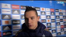 OM 3-0 Bastia : la réaction de Florian Thauvin