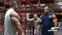 JAY CUTLER - TRICEPS TRAINING - Bodybuilding/Muscle/Fitness Workout