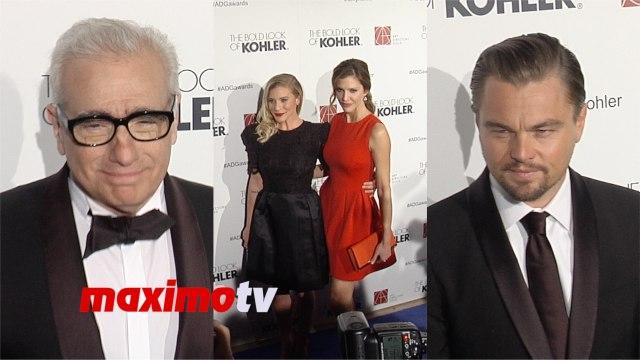 Leonardo DiCaprio, Martin Scorsese, Julia Stiles, Katee Sackhoff ► 18th Annual ADG Awards