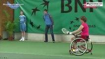 Résumé de la 3ème journée de l'Open de Tennis Handisport du Loiret - www.bloghandicap.com - La Web TV du Handicap