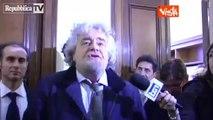 """Beppe Grillo """"Via i partiti, democrazia dal basso"""" - MoVimento 5 Stelle"""