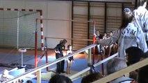 chloé gym compétition 8 ans (1ère compétition) Barres