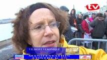 TV Bordeaux 33 Une contre manifestation contre le FN explication par veronique Vilmont