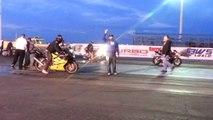 Motorcycle Drag Race- CBR vs Kawasaki ZX-6R 636