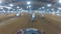 KTM 65 Dirt Bike Racing Crash - GoPro