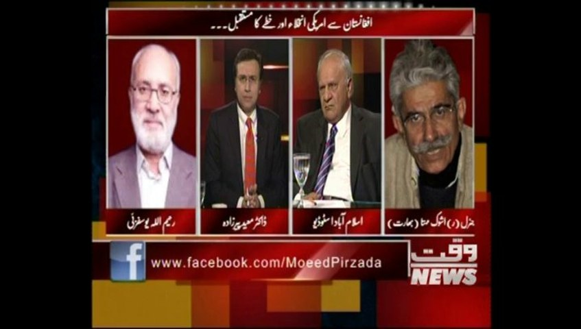 US Withdrawl from Afhanistan & Future of South Asia Region_Urdu_Part III