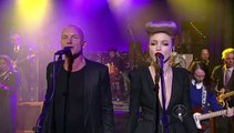 Sting - Drive My Car (feat. Ivy Levan and Mike Einziger) [Live on David Letterman]