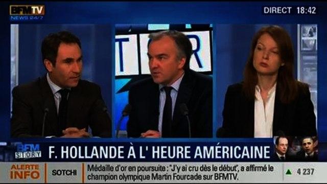 BFM Story: Les enjeux de la visite d'État de François Hollande aux États-Unis - 10/02