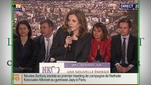Hollande Sarkozy : qui a gagné le match de la soirée?