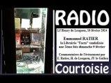 R-Courtoisie 2014.02.10 Emmanuel Ratier - librairie Facta vandalisée