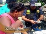 En Tingo María detienen a pareja de esposos que pretendía distribuir más de treinta mil nuevos soles falsificados en local de eventos.