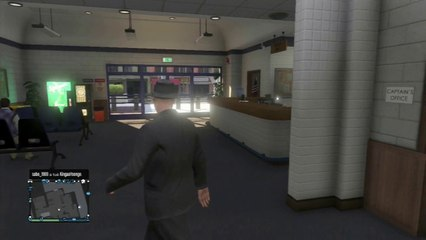 GTA Online - Glitch: Comment entrer dans le Commissariat de Police