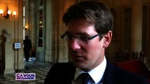 """""""Nous ne financerons plus d'OGM, nous ne financerons plus de centrales à charbon"""" affirme le ministre écologiste Pascal Canfin."""