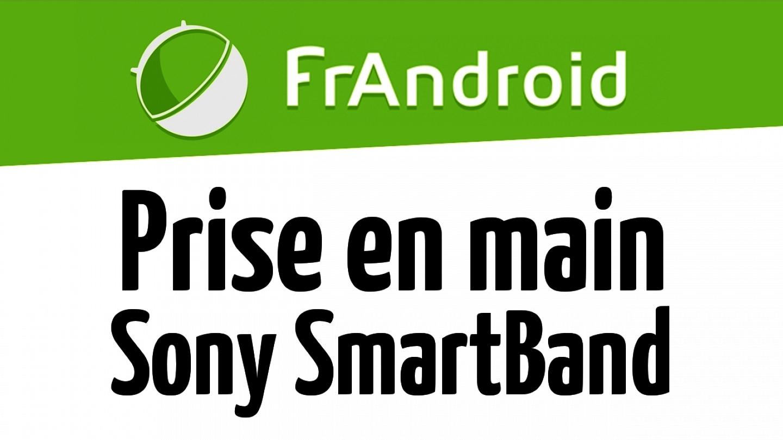 Prise en main du Sony SmartBand