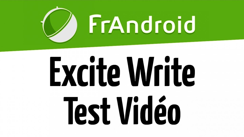 Test capteur vidéo 8 mégapixel tablette excite write