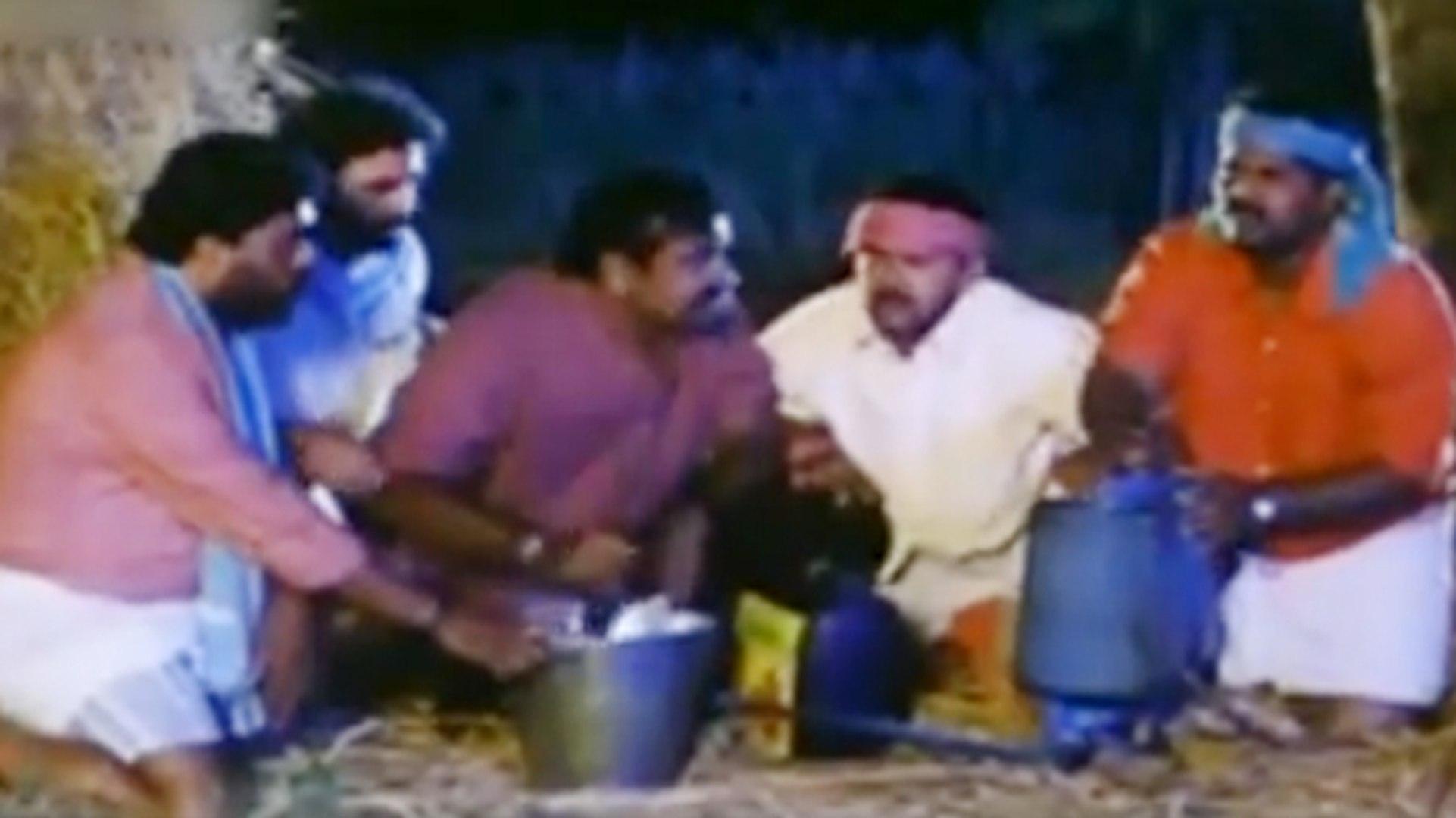 Village Burning Scene | Neenello Naanalle | Kannada Film