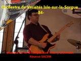 Orchestre de Variétés -Isle-sur-la-Sorgue-84- Vaucluse
