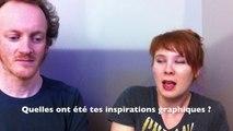 Léonie Bischoff et Olivier Bocquet en interview sur planetebd.com