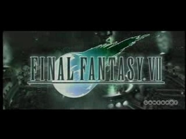 Final Fantasy 7  PS3 demo