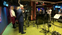 Prince Charles and Camilla behind camera