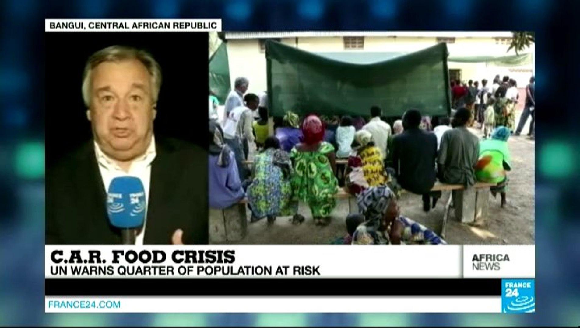Africa News - Food shortage worsens as Muslim traders flee Central African Republic