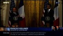 Le Soir BFM: François Hollande en visite officielle aux États-Unis - 11/02 1/4