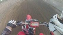 Milestone MX Main Dirt Bike Track Action