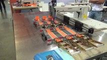 Automate de couture à contrôle électronique pour des matières très lourdes