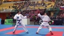 Finale Junior +59kg - Nancy Garcia - Euro Karaté Jeunes 2014