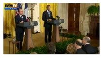 La petite blague de Hollande à Obama
