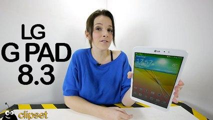 LG G Pad 8.3 review Videorama