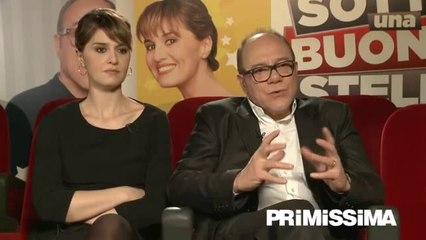 Intervista a Paola Cortellesi e Carlo Verdone regista e interprete di Sotto una buona stella