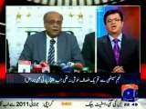 PCB New Chairman Najam Sethi & PM Nawaz Sharif coalition exposed by Kamran Khan