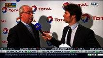 Des résultats annuels 2013 en baisse pour Total: Christophe de Margerie, dans Intégrale Bourse – 12/02