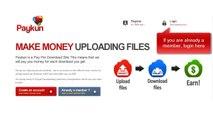 TUTORIAL HOW TO MAKE MONEY UPLOADING FILES. Earnings on the Internet