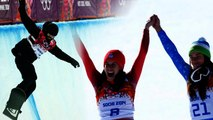 Sochi's Surprise Gold Medals In Men's Snowboarding & Women's Downhill