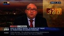 L'Éco du soir: Le lancement du compte bancaire Nickel dans les bureaux de tabac - 12/02